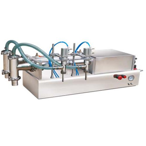 Remplisseuse liquide semi-auto a deux BEC GC-A/2