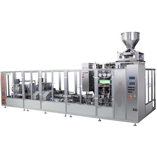 Ligne de conditionnement pour café sous vide en poudre ( ZB500N - N2)